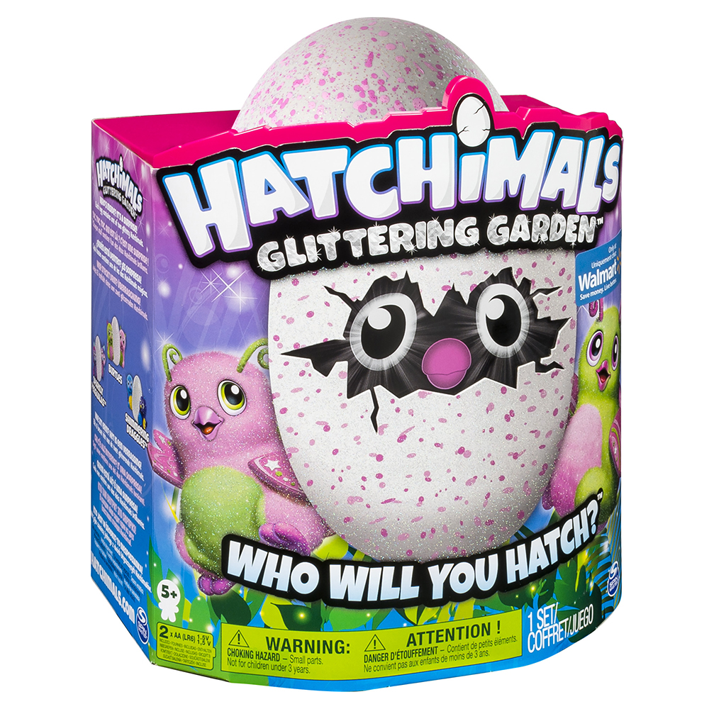 SM120191000086 HATCHIMALS GLITTERING GARDEN BURTLES