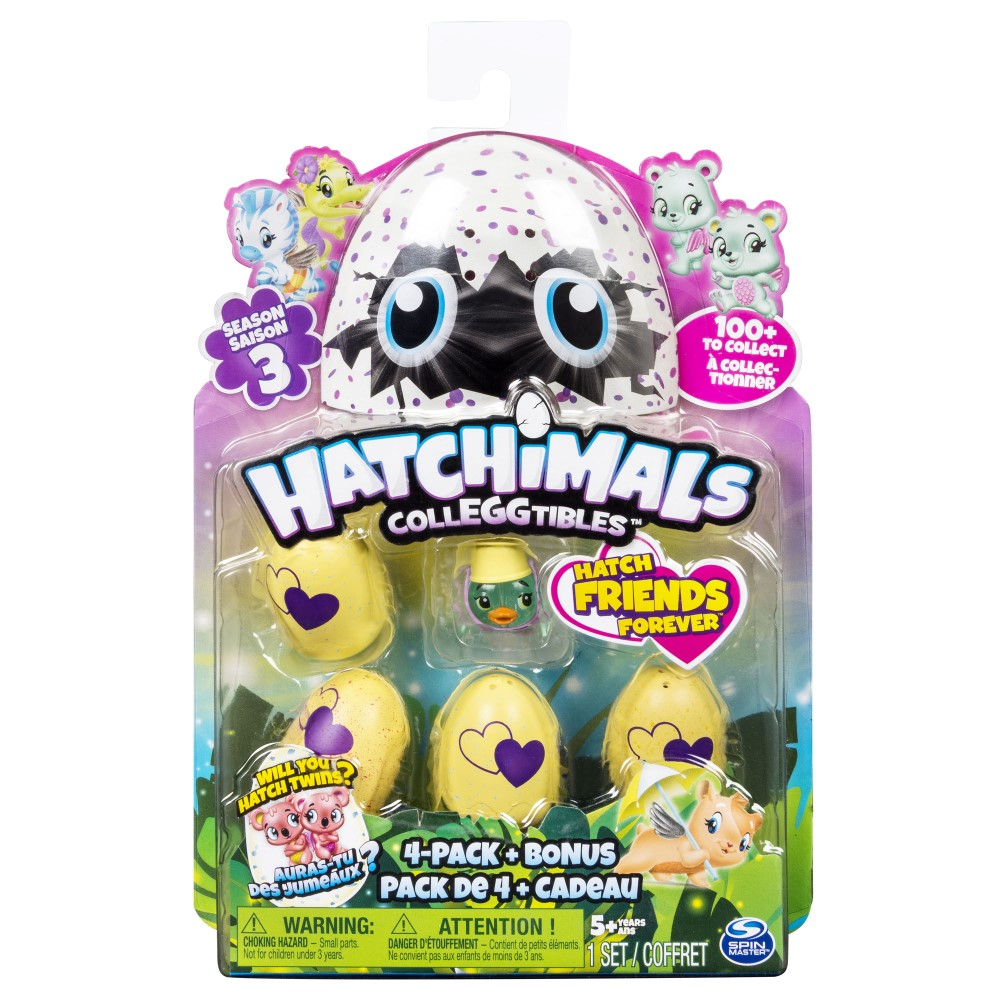 SM12019104S300 Hatchimals Colleggtibles 4Pk