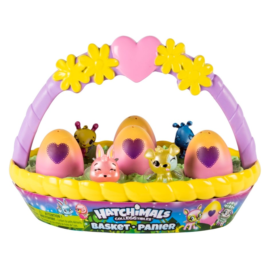 SM120191270000 Hatchimals ColleggSpring Basket