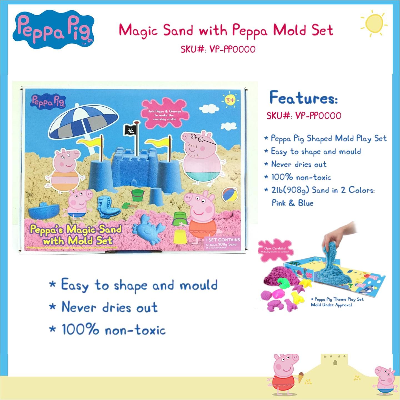 VP120PP3704200 Peppa Pig Magic Sand W Playmold Set 908G (3)