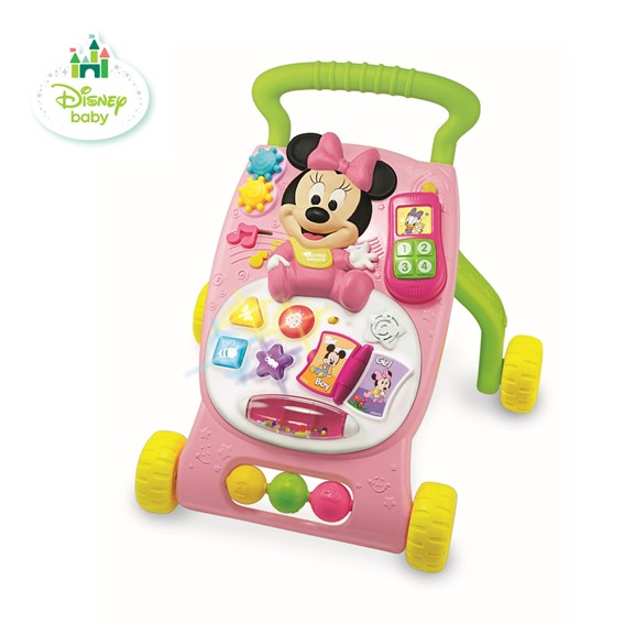 WF1100814GD000 Disney Grow-With-Me Musical Walker Minnie