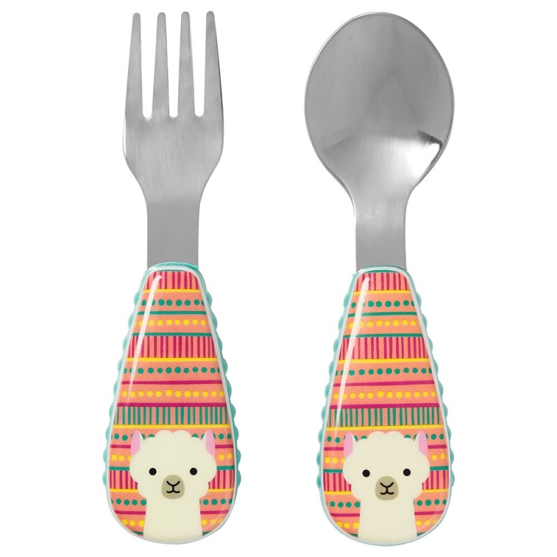skip-hop-zootensils-fork-spoon-llama