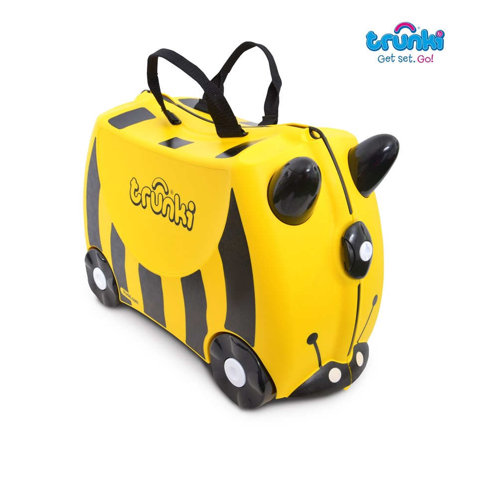 TR1200044GB010 Trunki Ride On Suitcase-Bernard The Bee (3)