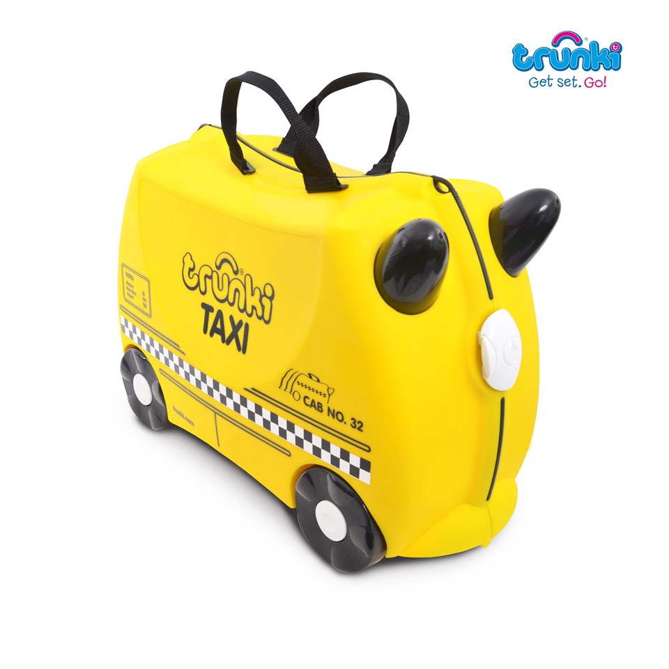 TR1200263GB010 Trunki Ride On Suitcase-Taxi Tony (1)