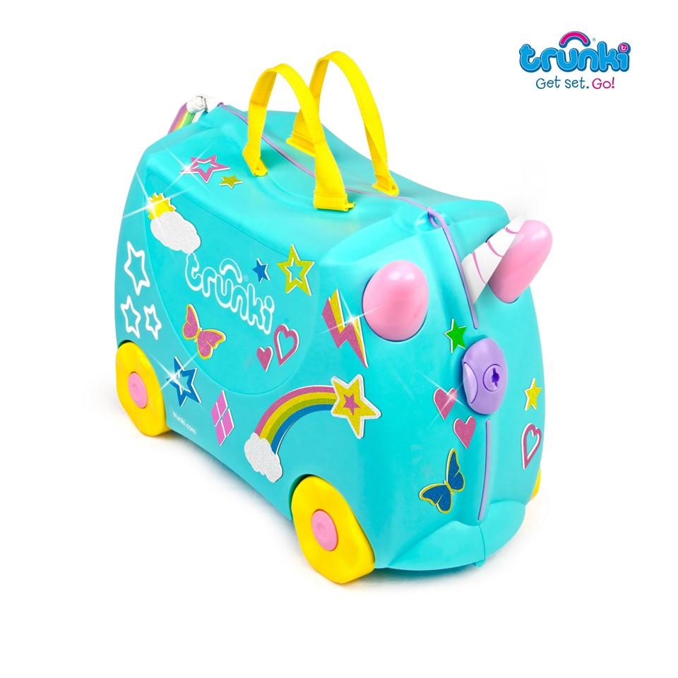 TR1200287GB010 Trunki Ride On Suitcase-Una-Unicorn (1)