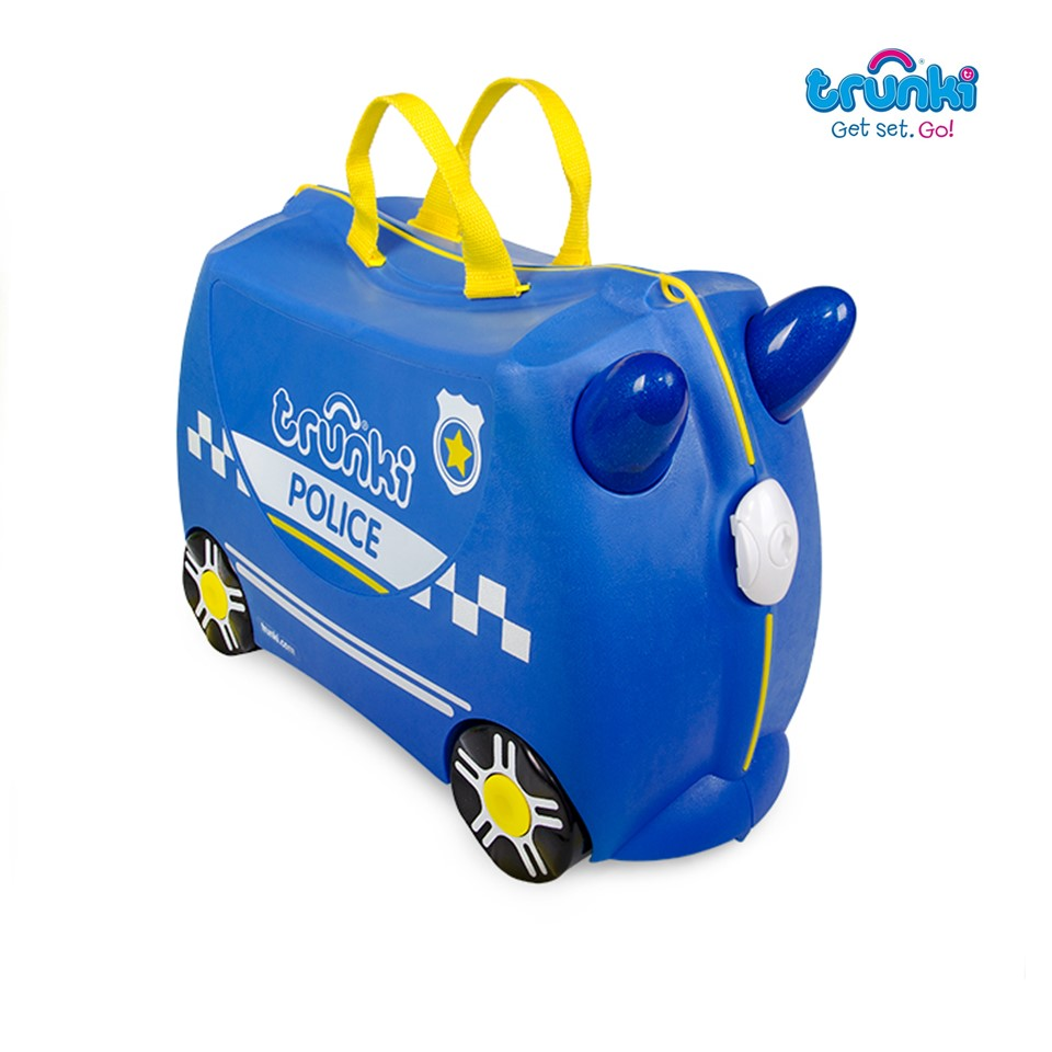 Trunki Ride On Suitcase-Police Car (1)
