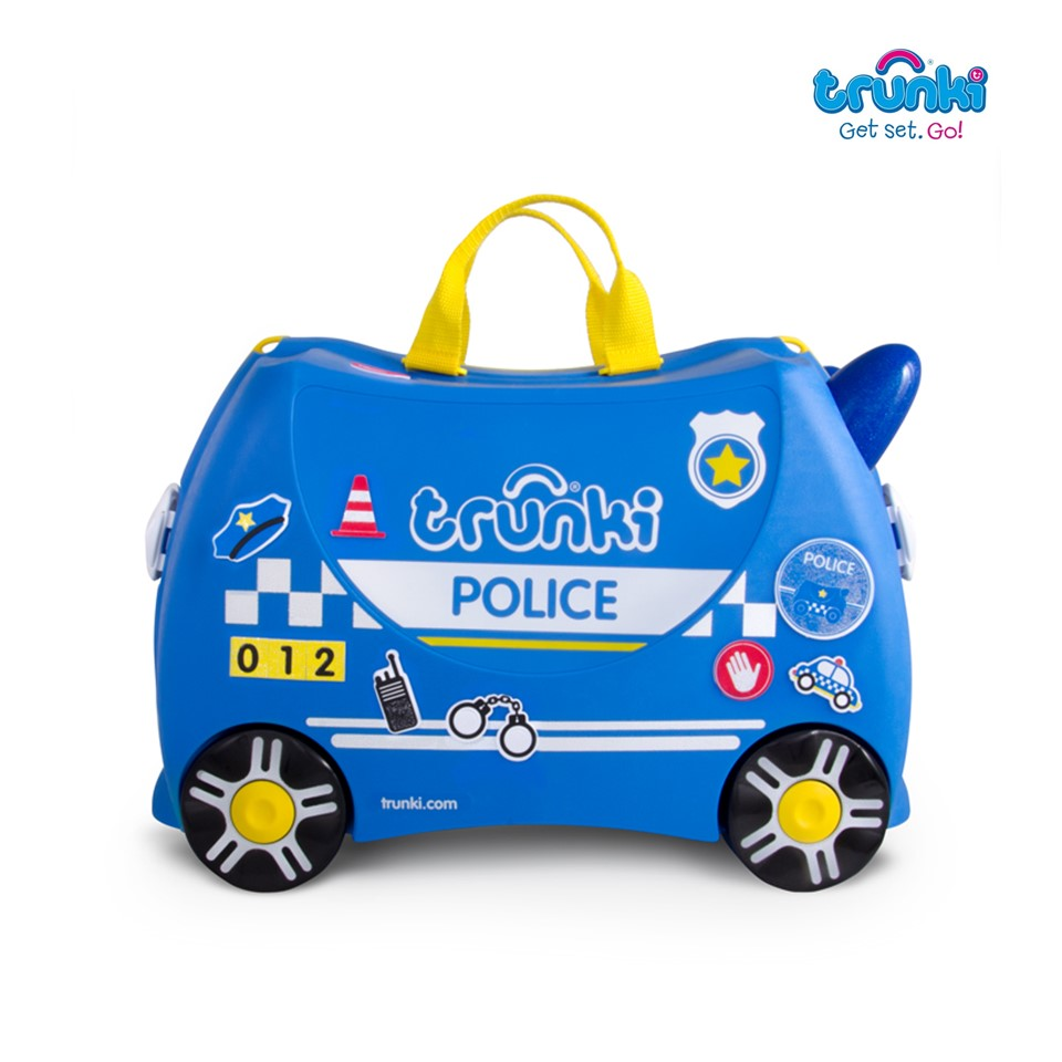 Trunki Ride On Suitcase-Police Car (2)